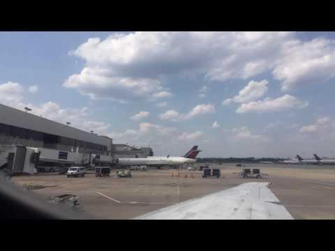 JUNE 11TH, 2016 -- ATLANTA, GEORGIA -- HARTSFIELD-JACKSON ATLANTA INTERNATIONAL AIRPORT!