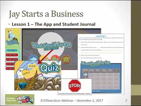Classroom ECONnections Webinar: Kids and Entrepreneurship