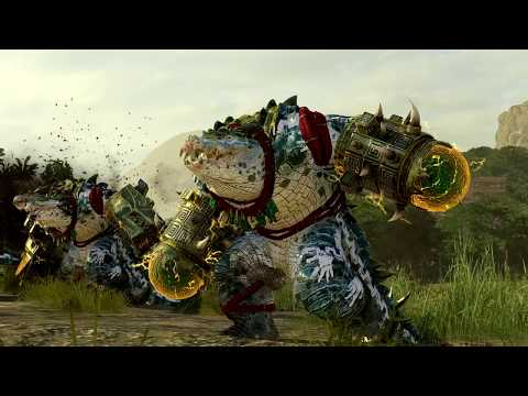 Empire ⚔️ Lizardmen - The Hunter & The Beast - Total War WARHAMMER 2 |