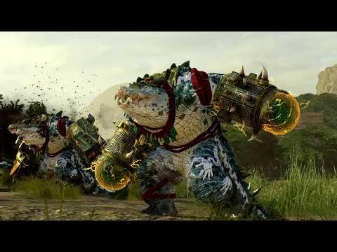 Empire ⚔️ Lizardmen - The Hunter & The Beast - Total War WARHAMMER 2 |
