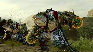 The Hunter & The Beast (Empire vs Lizardmen) Total War WARHAMMER 2 Cinematic Battle