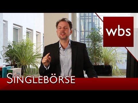 Singlebörse: Einhaltung der Schriftform bei Kündigung?   Kanzlei WBS