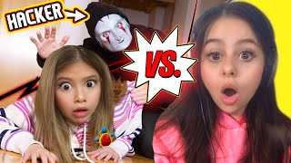 BABY Gloom and Azzyland vs HACKER BABYSITTER!