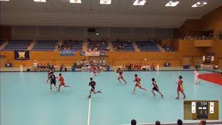 2019年IH ハンドボール 男子 3回戦  市川(千葉)VS 興南(沖縄)