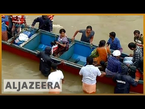 🇮🇳 Kerala floods: Over 300,000 displaced as rescue efforts struggle | Al Jazeera English