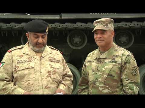 Kuwait Land Forces Commander visits USARCENT HQ