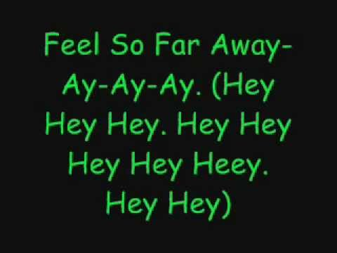 Jay Sean ft. Keisha Buchanan - Far Away w Lyrics