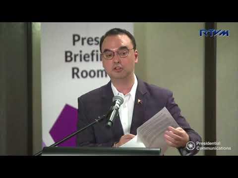 Press Briefing of Foreign Affairs Secretary  Alan Peter Cayetano