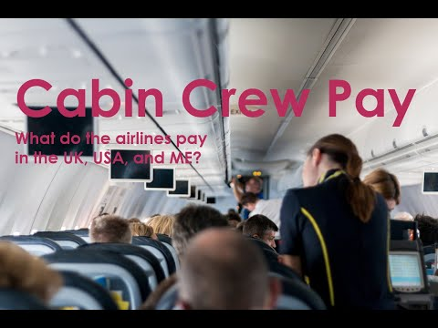 Cabin Crew Pay - What Do Airlines Pay Their Flight Attendants?