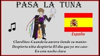 Tuna - España - Clavelitos-Despierta niña despierta- El día que yo me case-En esta noche clara