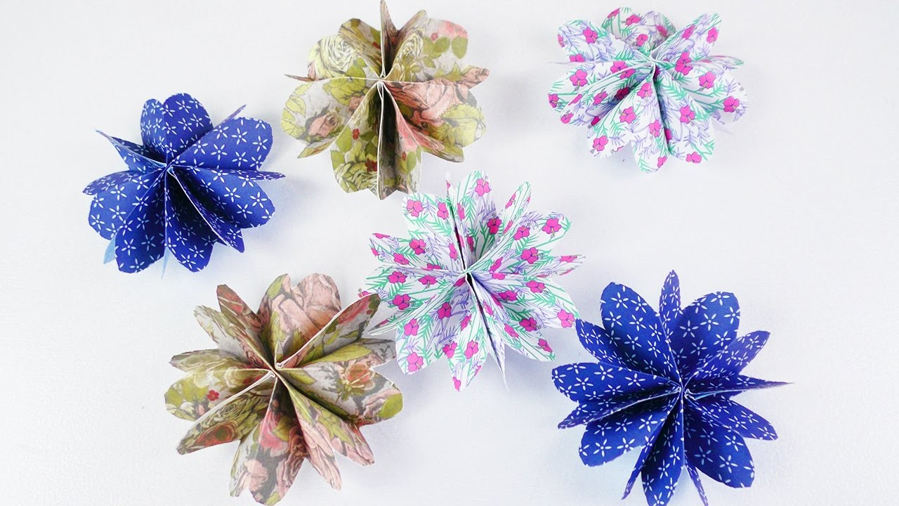 Blumenel Selber Machen süße blumen ganz einfach selber machen diy idee mit papier