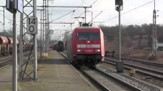 Grenzbahnhof Bad Bentheim : IC Berlin - Amsterdam Lokwechsel