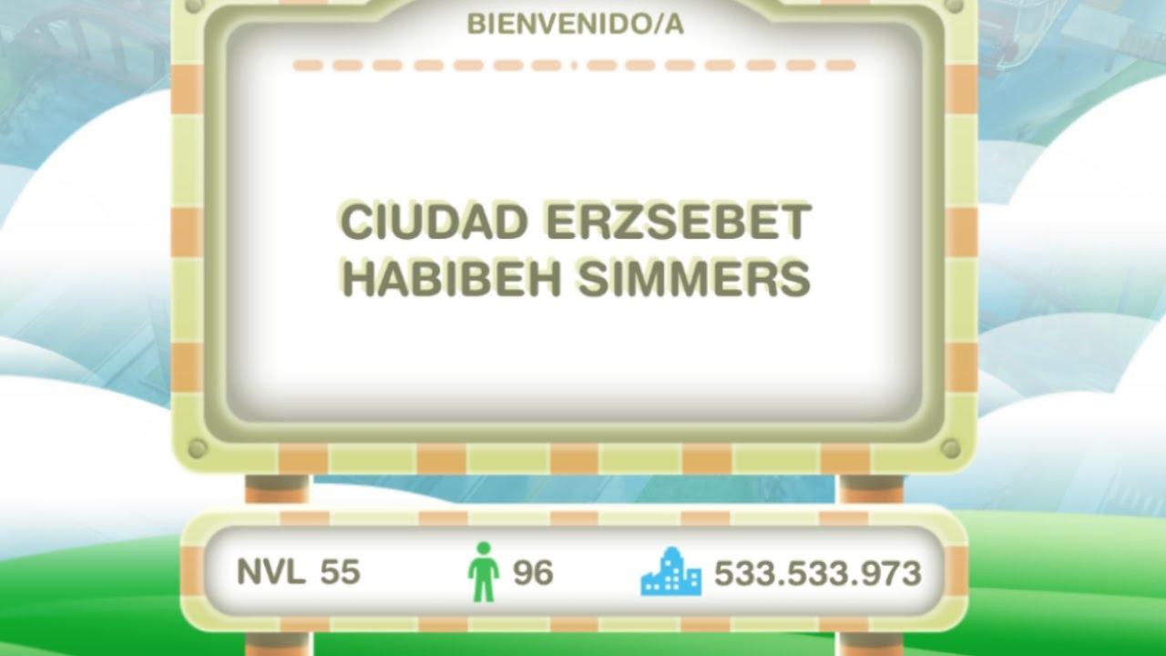 Sims Gratuito || Ciudad de Erzsebet Habibeh (Recorrido ...