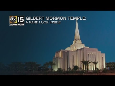 Inside the Gilbert Mormon Temple Part I
