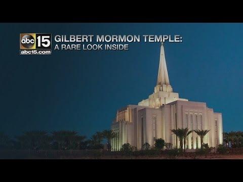 Inside the Gilbert Mormon Temple Part I