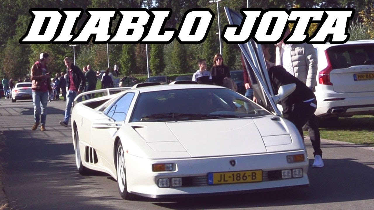 Huge Revs Lamborghini Diablo Se30 Jota Open Exhaust Youtube