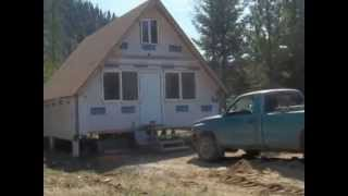 My Neighbors Really Cool A Frame Small House Build  Part # 1