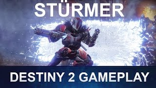 DESTINY 2 Stürmer Gameplay Deutsch / German