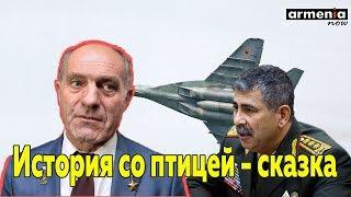 Герой России: птица, протаранившая азербайджанский МиГ-29, – это сказка