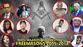 WATU MAARUFU WALIOWEKWA FREEMASON TANZANIA NA  AFRICA