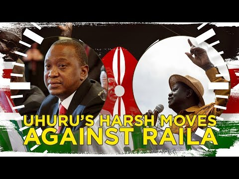 Kenyatta's moves against Raila