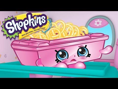 SHOPKINS Cartoon - AIRPLANE FOOD   Cartoons For Children