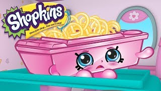 SHOPKINS Cartoon - AIRPLANE FOOD | Cartoons For Children