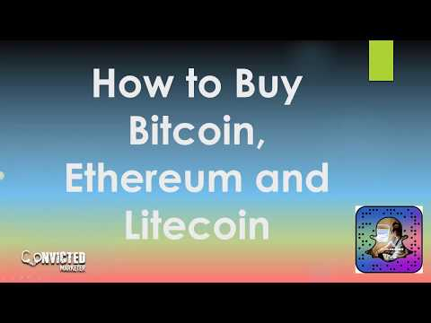 How to Buy Bitcoin Ethereum and Litecoin using Coinbase with Credit Card or Bank Account