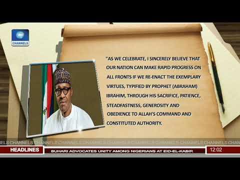 Buhari Calls For A More United Nigerian In Eid-El-Kabir Message