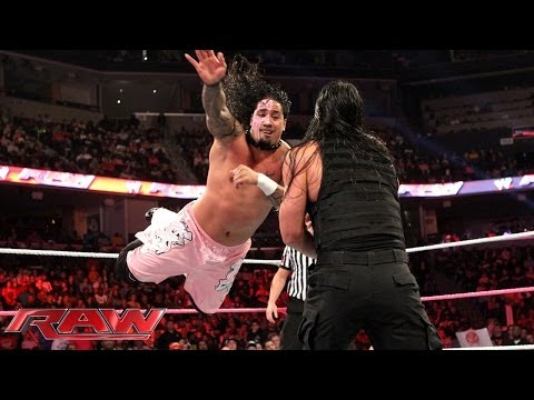 The Usos vs. The Shield: Raw, Oct. 21, 2013