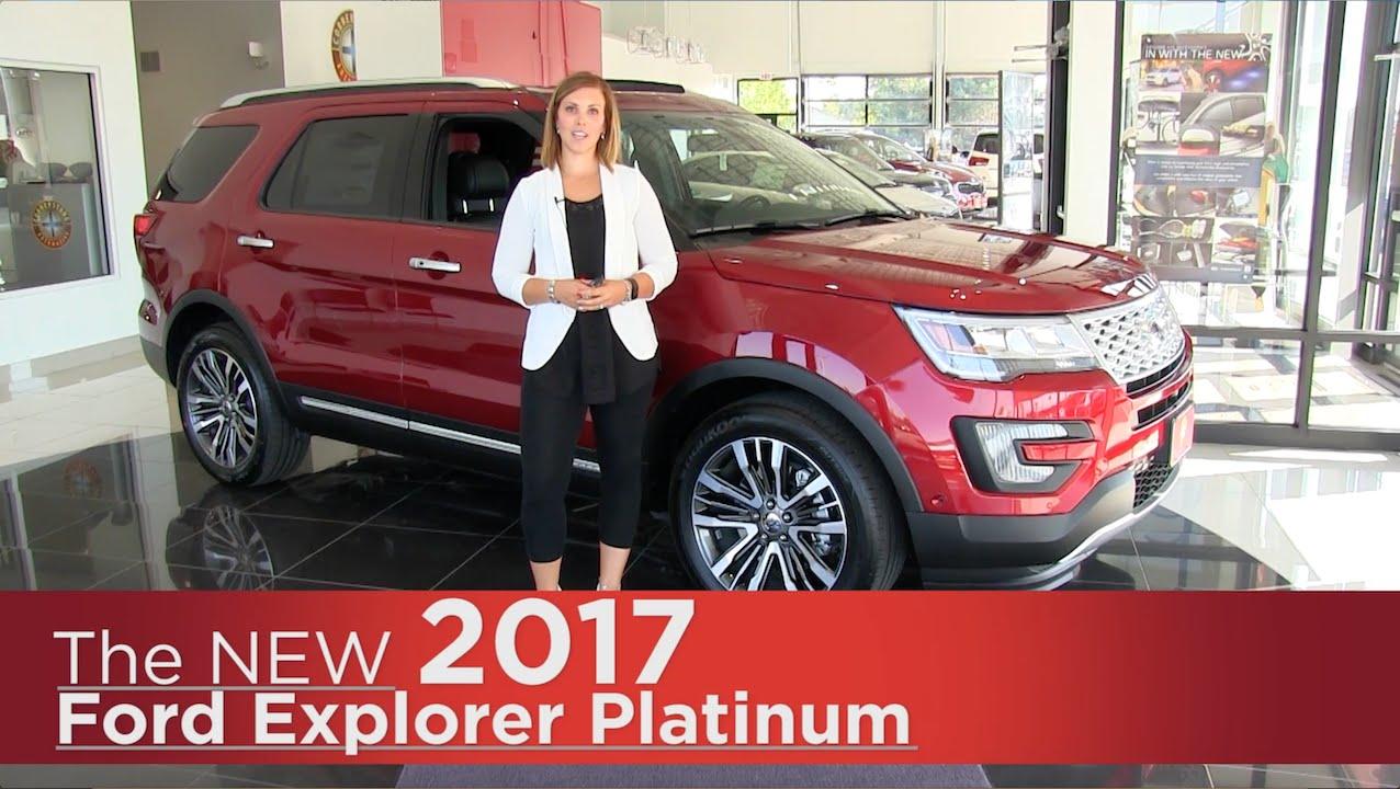 New 2017 Ford Explorer Platinum Elk River Rapids Minneapolis St Paul Cloud Mn Review You