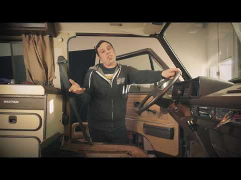 Vanagon Seat Swivel Removal - YouTube