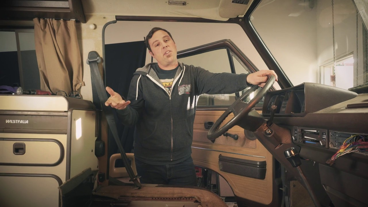 Vanagon Seat Swivel Removal