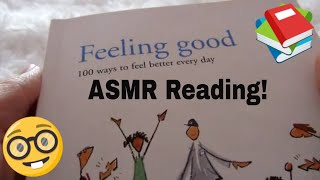 ASMR -  Whispered Reading - 100 Ways to Feel Better Every Day