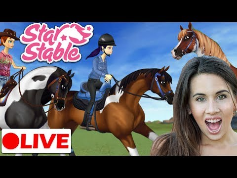 🔴 The Pinto Arabians Have Arrived! |  Star Stable Live Stream