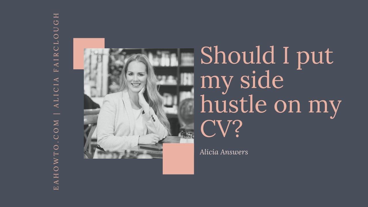 Should I put my side hustle on my resume?