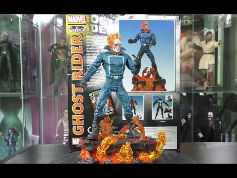 """""""GHOST RIDER"""" (DIAMOND SELECT) MARVEL COMICS VERSION! REVIEW+UNBOXING (1080P)"""