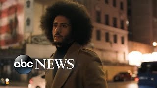 Mixed reaction to Colin Kaepernick's Nike campaign
