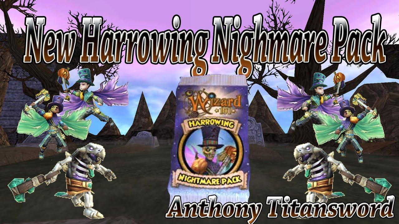 New Harrowing Nightmare Pack