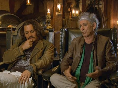 Johnny Depp & Keith Richards 'Pirates of the Caribbean: On Stranger Tides' Interview