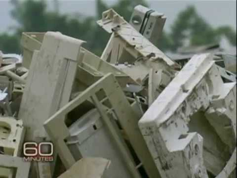 60 Minutes-All Of Your E-Waste Goes To China!
