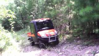 Kubota Rtv 1100 steep grade