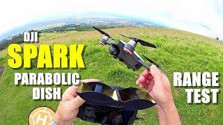DJI SPARK Review - Part 4 - [4+ Mile In-Depth Parabolic Range Booster Test 😱]