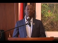 Prime Minister's Address On Returning From 28th Inter-Sessional Meeting Of CARICOM Heads