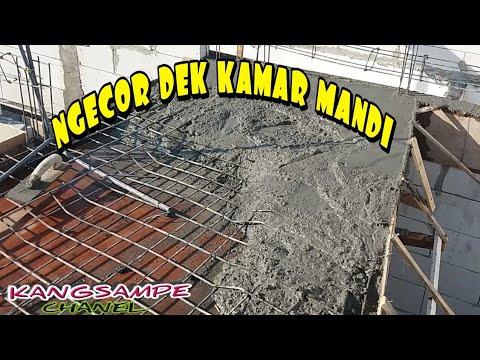 NGECOR DEK KAMAR MANDI MANUAL