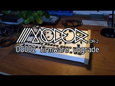 Modor DR-2 Firmware Upgrade OS002