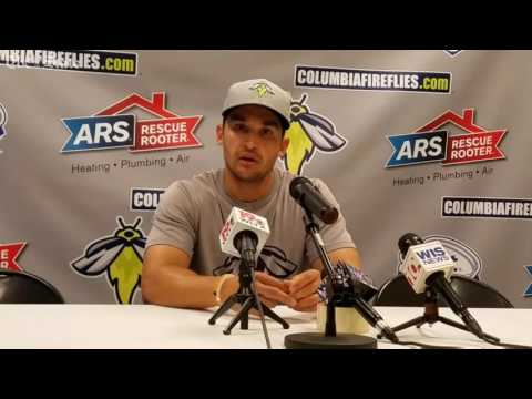 Fireflies' Jose Leger discusses managing in South Atlantic League All-Star game