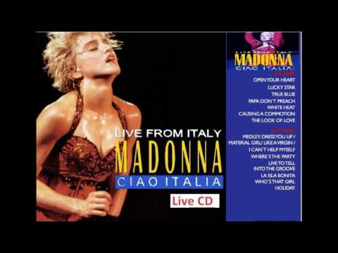 maddona  whos that girl world   tour ..italy  1987 live cd