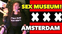 GOING TO SEX MUSEUM IN AMSTERDAM!