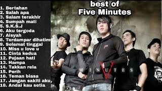 Download lagu Best of FIVE MINUTES paling enak didengar waktu kerja.